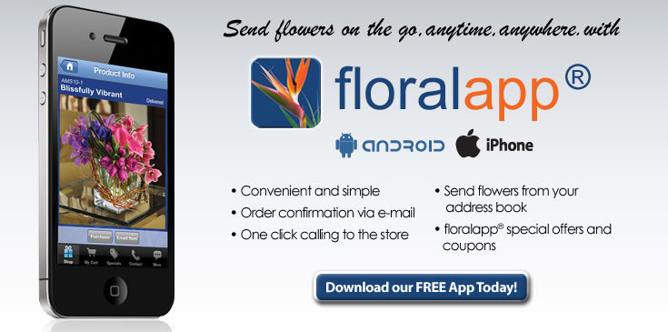 Floralapp for IPhone and Android