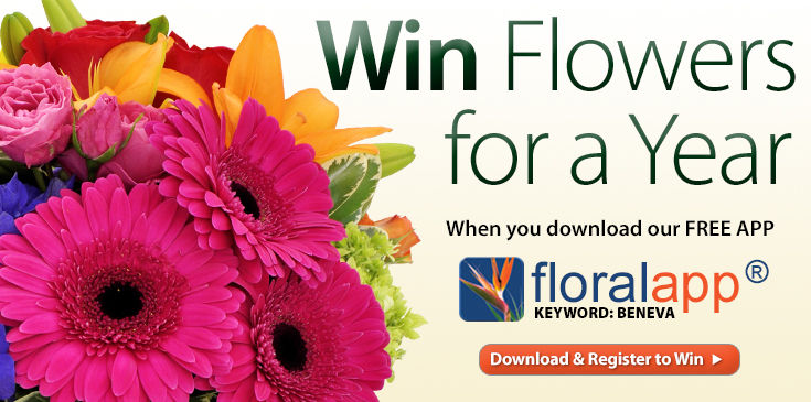 Win Flowers for a year! - 