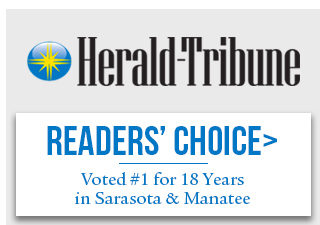 Readers Choice Award - #1 Florist in Sarasota