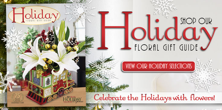 Celebrate the holidays with flowers!